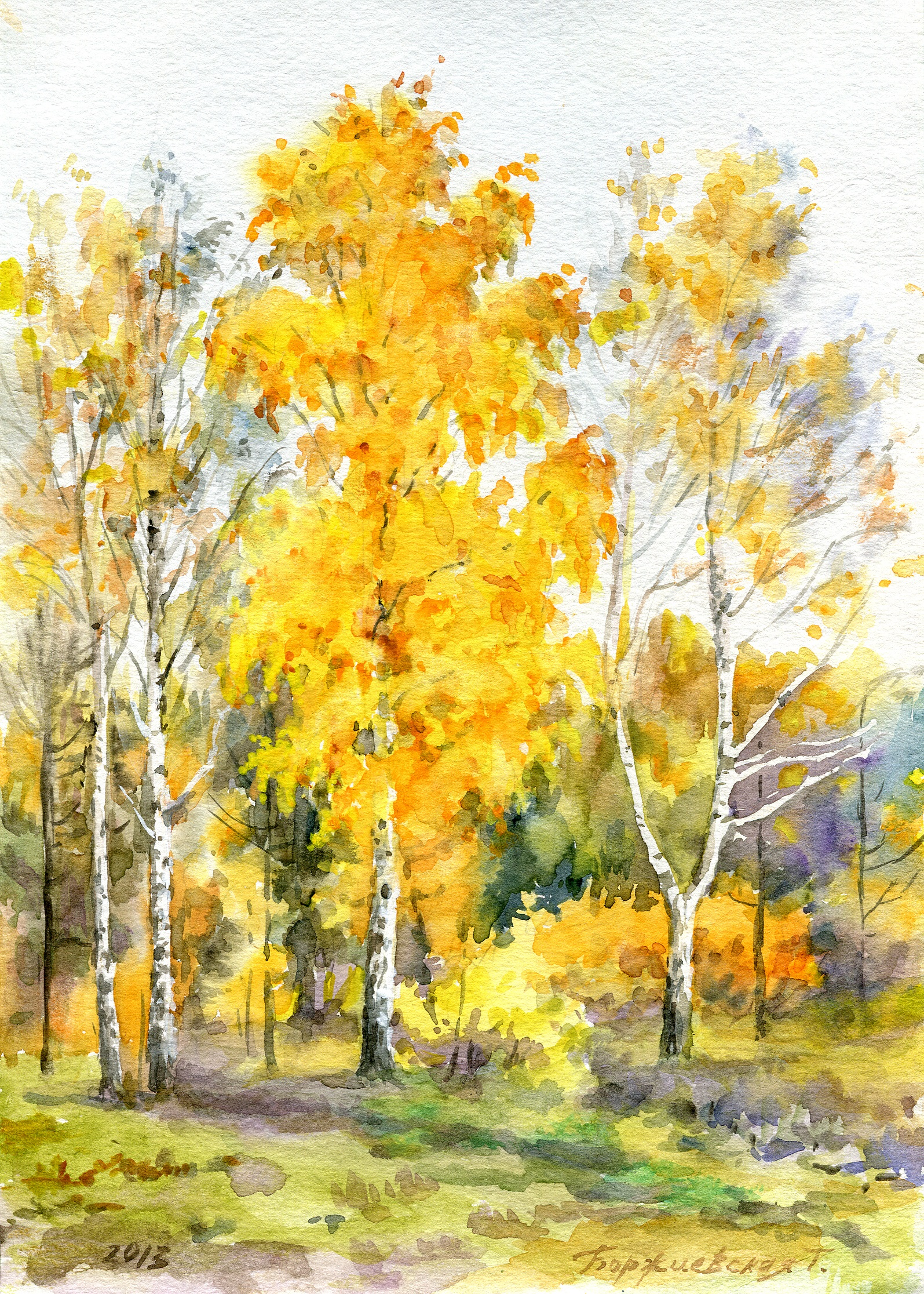 Art gallery of russian painter borzhievskaya russian for Watercolor art prints for sale